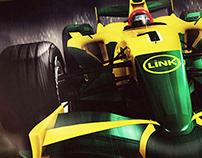 Grand Prix Formula Link - Red Link