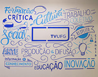 Mural TV UFG