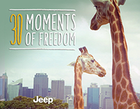 "JEEP® ""30 MOMENTS OF FREEDOM"""