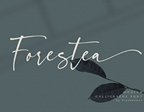 FREE | Forestea Modern Calligraphy Font