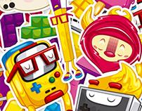 Stickers Calambuco