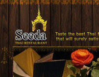 Seeda Thai Restaurant Website