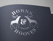 Logo for Hooves & Horns Jewellery