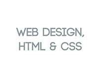 Web design, HTML & CSS