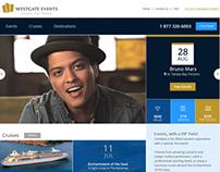 Westgate Events Website Redesign
