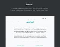 Sumrized - Website design