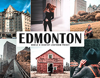 Free Edmonton Mobile & Desktop Lightroom Preset