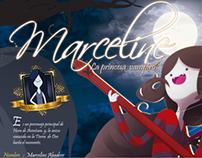 """Infografía - Marceline """" la princesa vampiro"""""""
