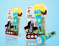 LED Flashlight Packaging Design