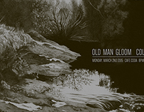 Old Man Gloom gig poster