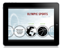 Olympic Infographic App