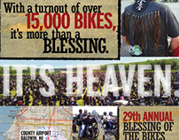 Blessing of the Bikes | Poster