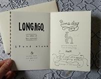 Typographic Valentine Storybook