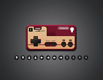 If you think that it's a FC joypad,O(∩_∩)Oyou're wrong