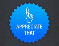 Appreciate THAT