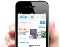 Tiki.vn Mobile Version