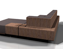 BQ 16 bent wood sofa