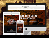Demoliciones Vega Website