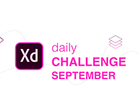Adobe XD - Daily Challenge September