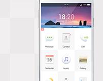 Simple UI concept