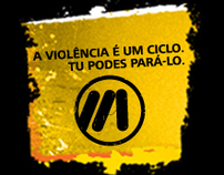 "Public Campaign ""Violence is a cycle. U can stop it"""