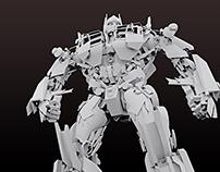 Autobot (3D Render)