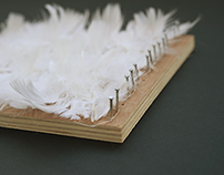 // FEATHER WEAVING PAD//
