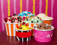 City Center Ice Cream Product Shoot 2017
