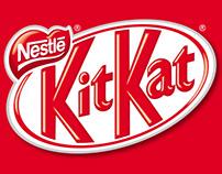 Kit-Kat paint doodle