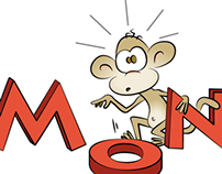 Logo til No Monkeys