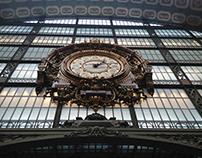 Horloge - Musée d'Orsay - Paris