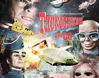 Thunderbirds Retro Poster