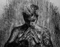 Pencil Drawing of Purpose - J.Bieber