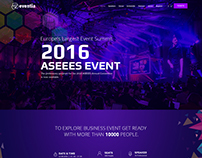 Eventia - Premium Event Template For Joomla