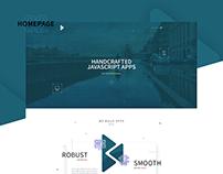 BUDACODE // Website redesign