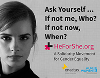 He For She | enactus Helwan University