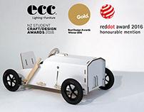 Kit-netic Cardboard Go-Kart