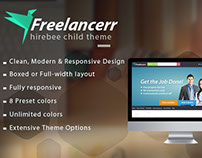 HireBee WordPress Freelance Marketplace Theme