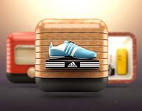 3D iOS Icons
