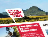 Tourisme Bas-Saint-Laurent - Site Web