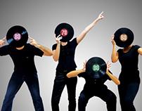 Edição de Imagem - Musical Vitrola Jukebox