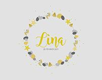 Lina (Faire-part de naissance)