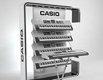 Casio Keyboard & Calculator Stands