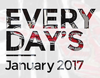 Everyday's January 2017