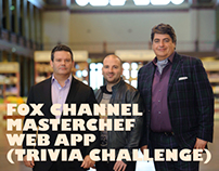 Fox Masterchef - Web App (Trivia Challenge)