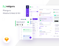 Planguru - Free UI Kit