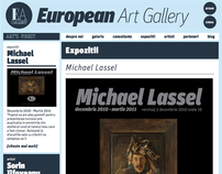 European Art Gallery website