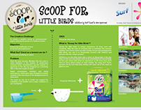 Scoop For Little Birds