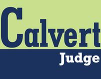 Calvert for Judge - Political Campaign