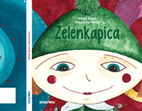 """Zelenkapica""-"" Little green riding hood"" -Picture Book"